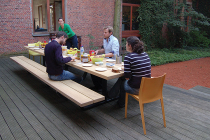Cassecroute Table 25