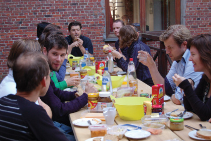 Cassecroute Table 24