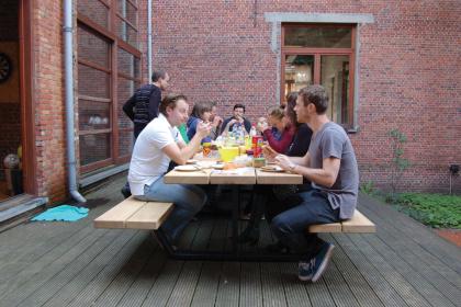 Cassecroute Table 22