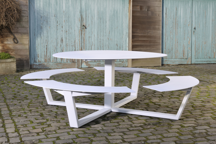 La Grande Ronde Picnic Table Cassecroute Handmade Picnic Tables