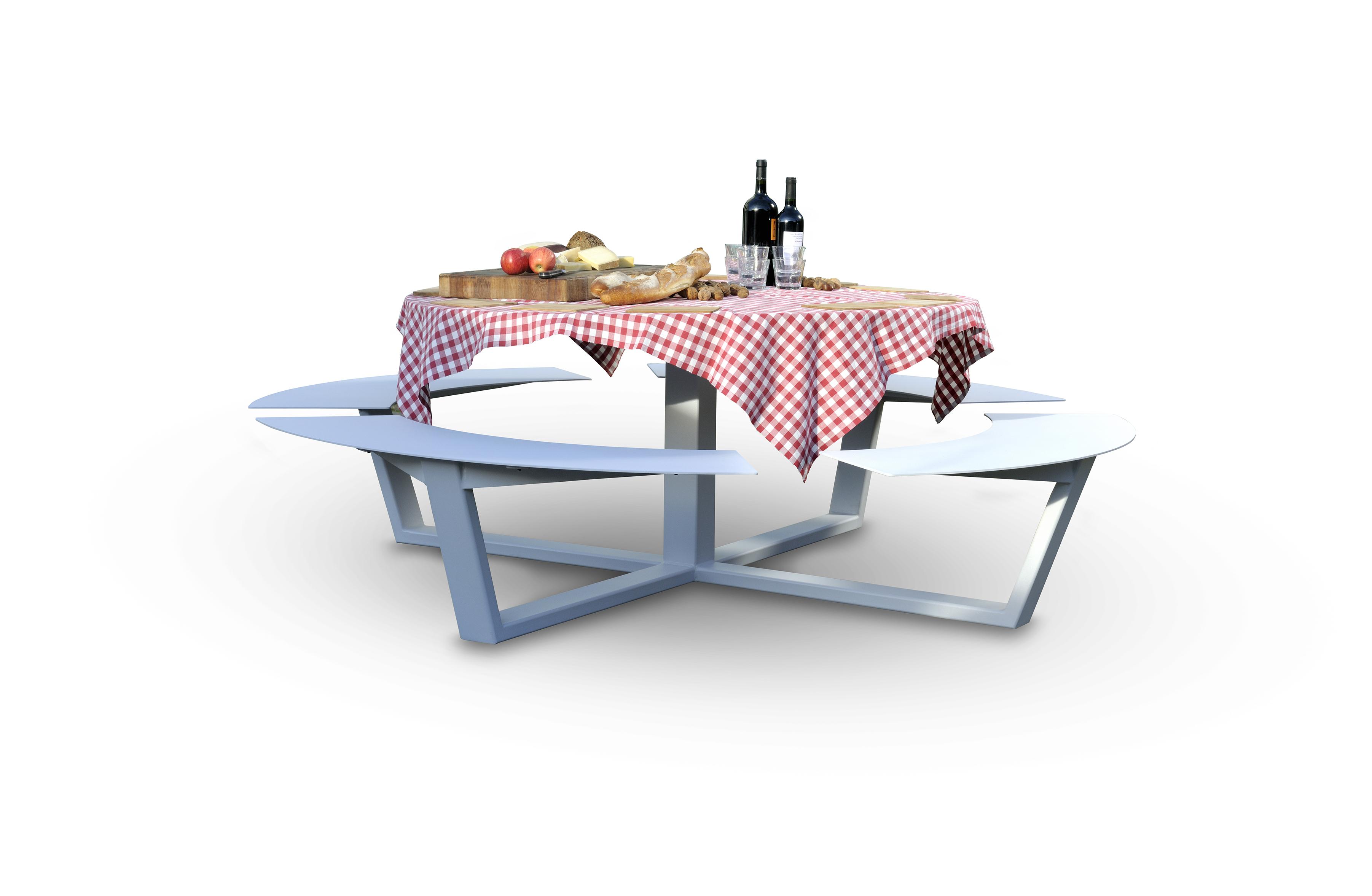 la grande ronde cassecroute handmade picnic tables. Black Bedroom Furniture Sets. Home Design Ideas