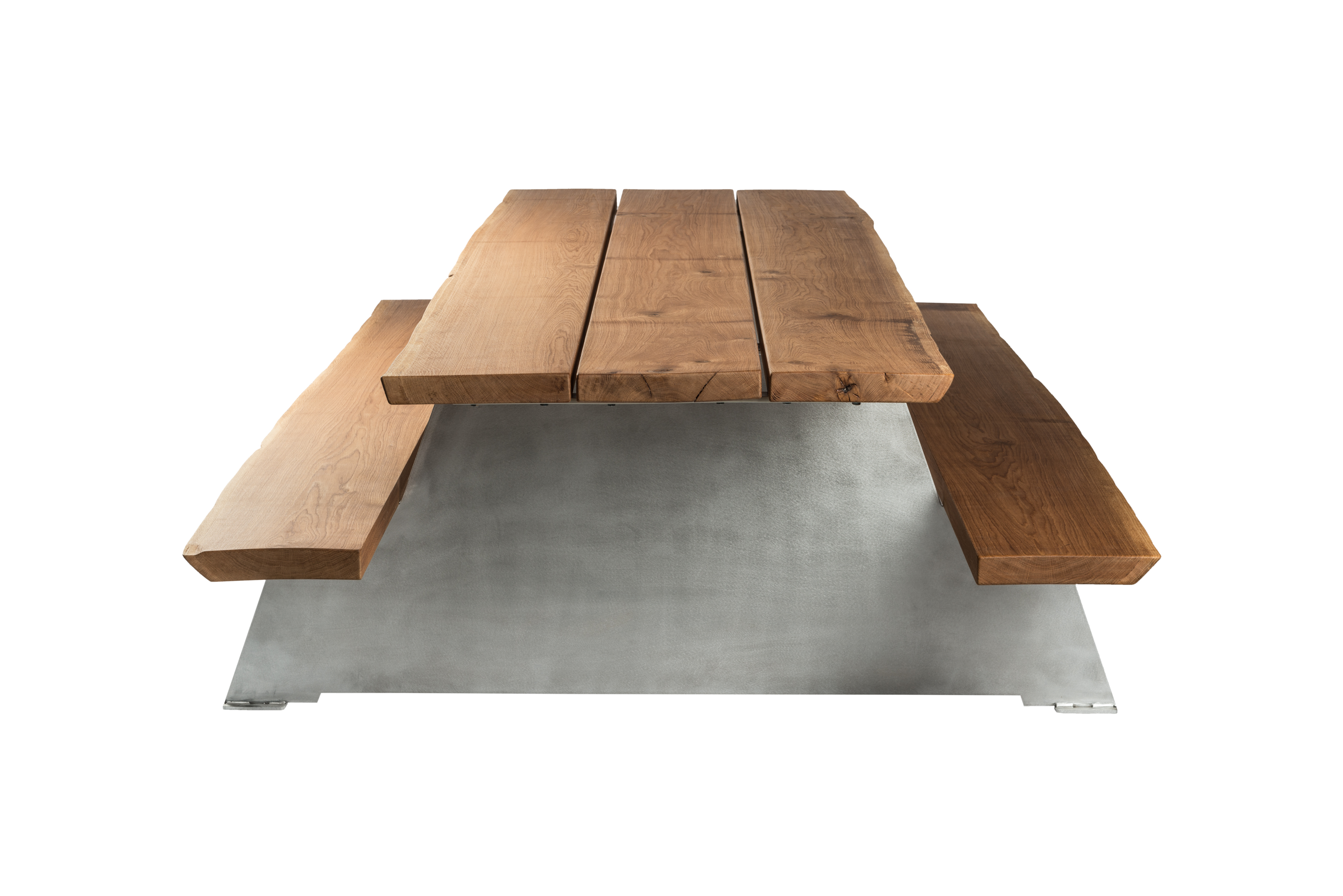 handmade picnic tables • cassecroute • wood and aluminium